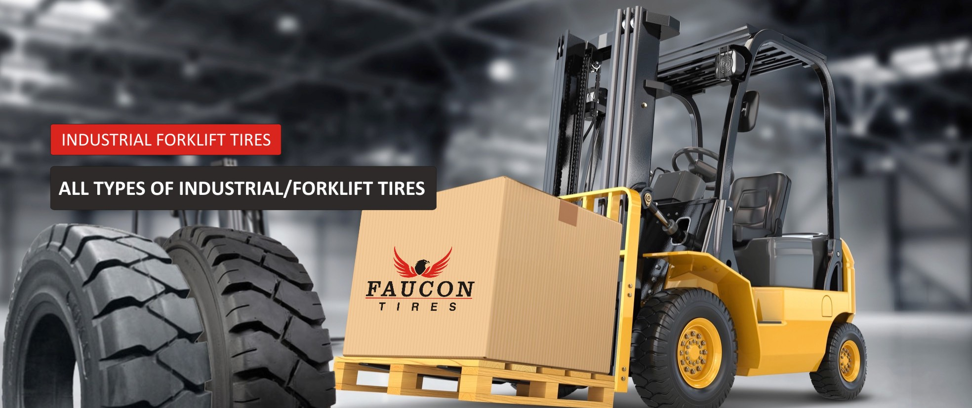 Industrial Forklift Tire